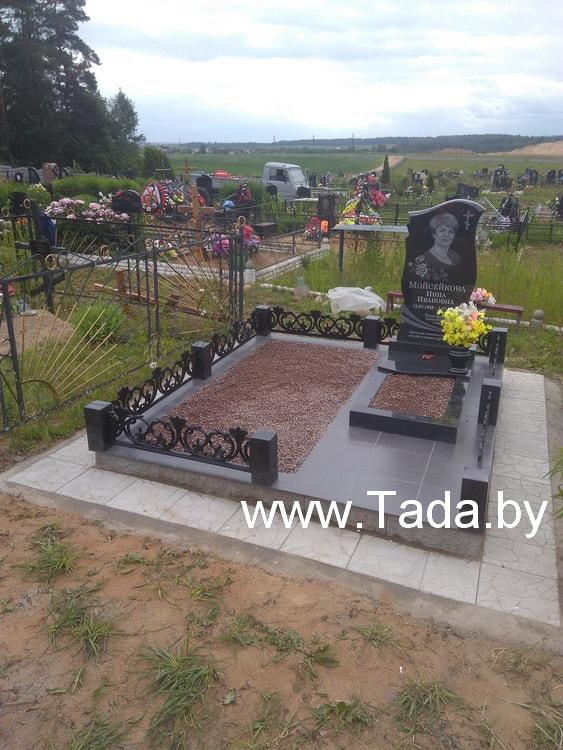 Как благоустроить могилу на кладбище